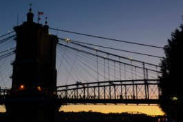 The John A. Roebling Bridge has been standing for 154 years.