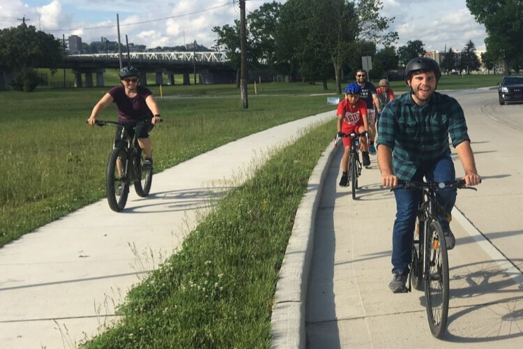 Tri-State Trails organized a series of slow rides as part of its ConnectNKY program.