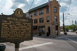 Ritte's Corner is the focal point of Latonia's revival.