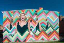 Maysville native Rosemary Clooney is the subject of a wall-size mural in Over-the-Rhine.