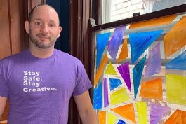 Covington artist Chad Turner has turned to virtual alternatives to teach and create.