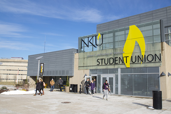Votruba Student Union is named for former NKU President Jim Votruba