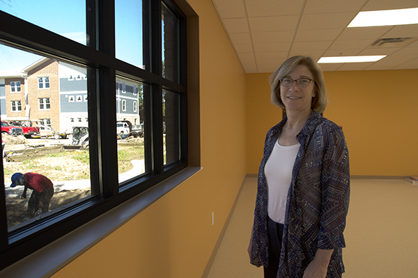 Brighton Center CEO Tammy Weidinger is overseeing construction of the NKY Scholar House project