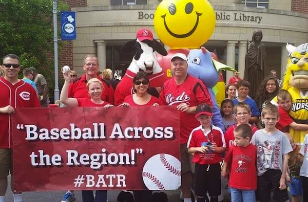 All Stars Read On! and Baseball Across the Region toured NKY libraries in early June