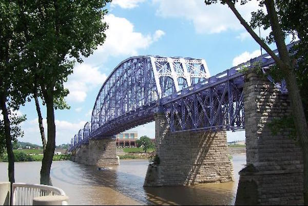 The River Cities Relay and event party will begin and end under the Purple People Bridge Aug. 27