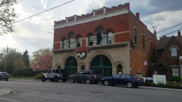 Former firehouse has recently been home to restaurants and sports bars